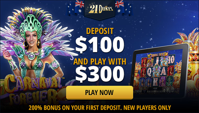 21 Dukes Casino Offers Players a 200% First Deposit Bonus