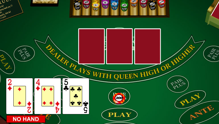 3 card poker free trainer