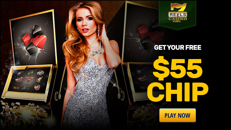 Get Cracking Today With $55 Free at 7Reels Casino