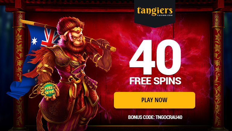 Exclusive Welcome Bonus for Aussies at Tangiers Casino: Grab 40 Free Spins