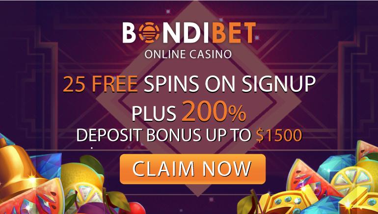 Generous Welcome Offer at BondiBet Casino
