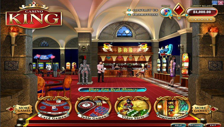 Try Casino King for Top Arcade Games