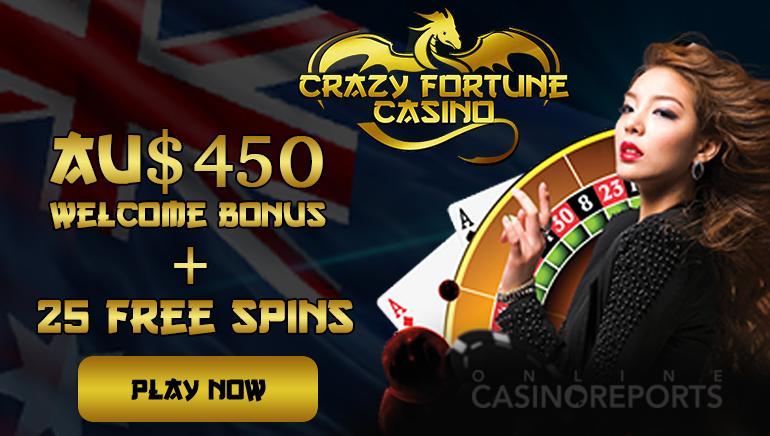 Grab Some Bonus Rewards And Free Spins At Crazy Fortune Casino