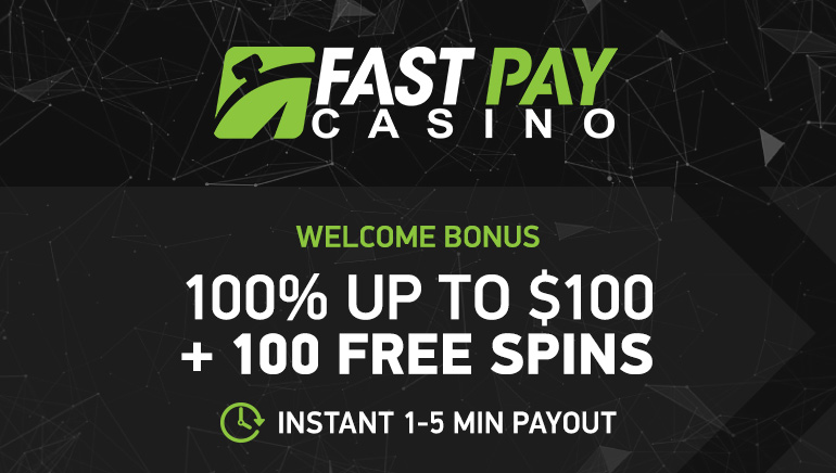 FastPay Casino Boosts Aussie Players with 100% Bonus up to AU$150 + 100 Free Spins