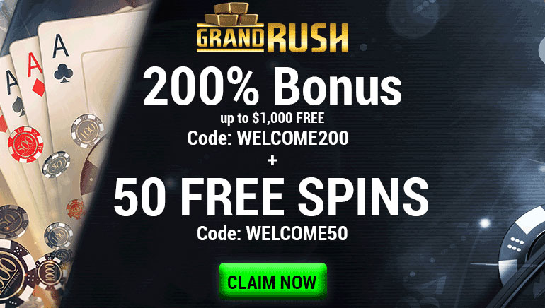 200% up to $1000 free + 50 free spins