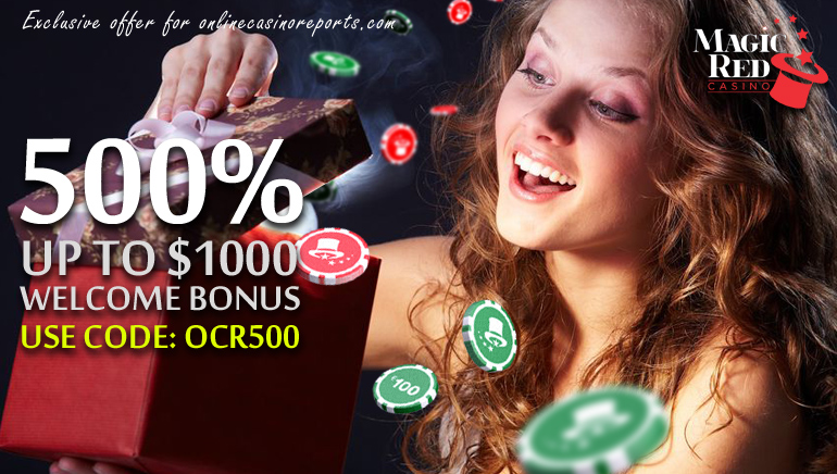 Claim an Exclusive $1000 Welcome Bonus at Magic Red Casino