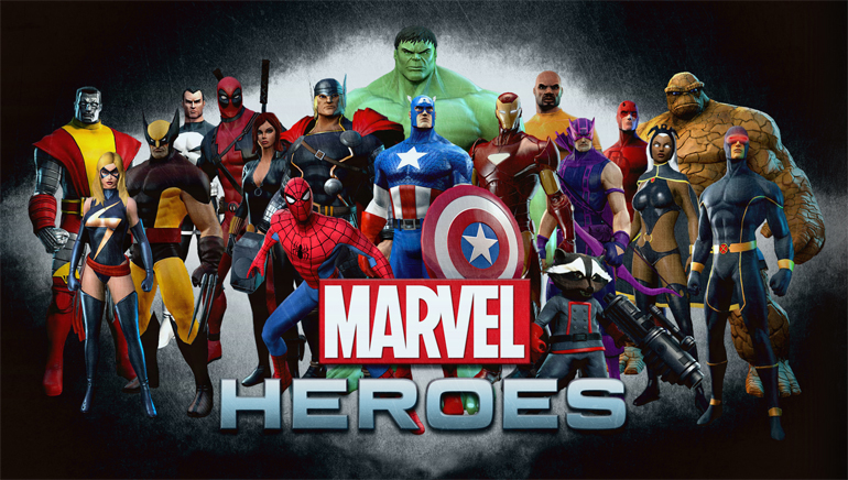 Popular Marvel Superheroes at 7Regal Casino