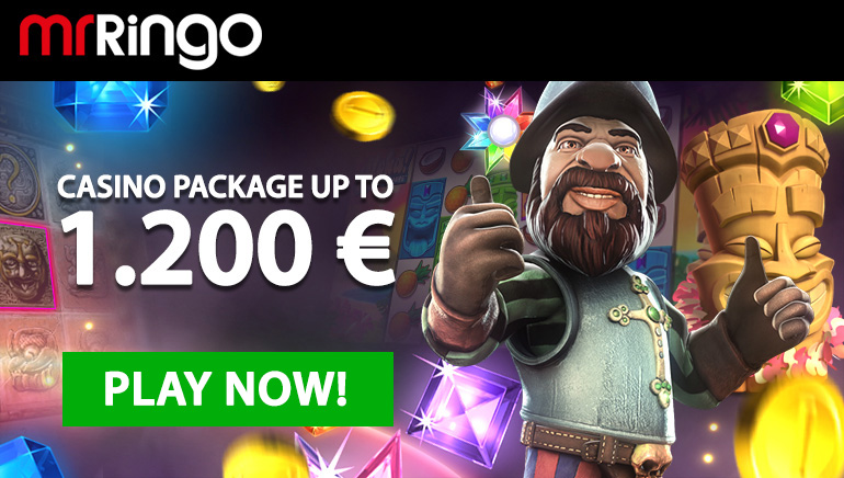 Try Mr Ringo Casino's Superb Video Slots With a Huge Welcome Bonus