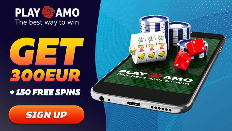 Get 300 euro + 150 free spins