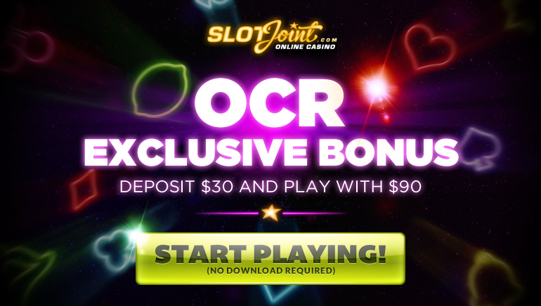 Aussies Play it Big at SlotJoint Casino with OCR