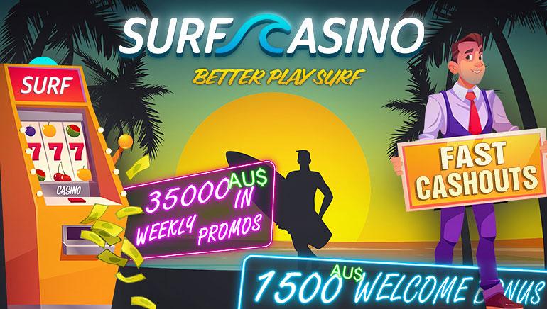 35000 AUD weekly in promos + 1500 AUD welcome bonus