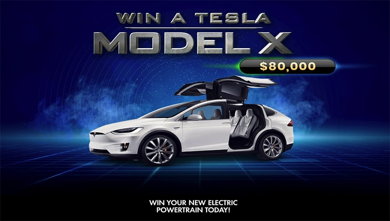 Players Can Win a Brand New Tesla Model X at BondiBet Casino By Depositing & Playing Online