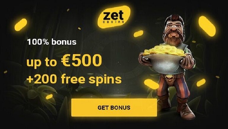 Enjoy a €500 Welcome Bonus + 200 Free Spins at Zet Casino